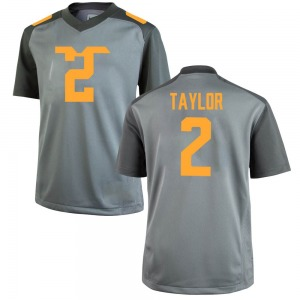 Alontae Taylor Nike Tennessee Volunteers Youth Game College Jersey - Gray