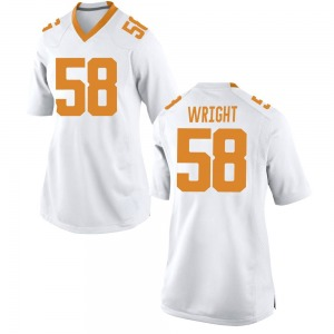 Darnell Wright Nike Tennessee Volunteers Women's Replica College Jersey - White