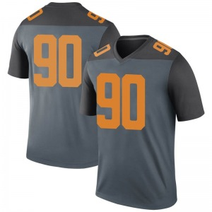 Greg Emerson Nike Tennessee Volunteers Men's Legend College Jersey - Gray