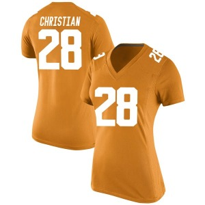 James Christian Nike Tennessee Volunteers Women's Replica College Jersey - Orange