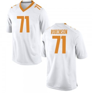 James Robinson Nike Tennessee Volunteers Men's Game College Jersey - White
