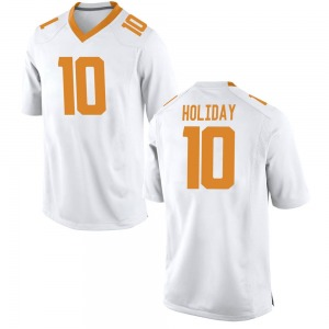 Jimmy Holiday Nike Tennessee Volunteers Youth Replica College Jersey - White