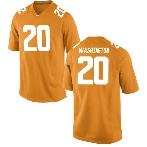Seth Washington Nike Tennessee Volunteers Youth Game College Jersey - Orange