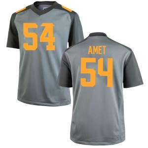 Tim Amet Nike Tennessee Volunteers Youth Replica College Jersey - Gray