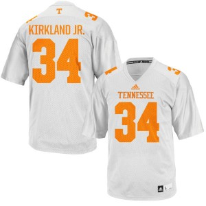 Darrin Kirkland Jr. Tennessee Volunteers Women's Authentic adidas Football Jersey  -  White