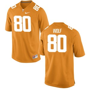 Eli Wolf Nike Tennessee Volunteers Youth Authentic Jersey  -  Orange